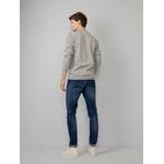 M-1010-KWR205 - Knitwear R-Neck 9038 Light Grey Me 3