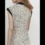 QK31024 ROBE S:MANCHE ROBE 19 Imprime leopard 3:6