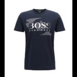 T-shirt ras-du-cou en jersey Modèle Tee 1 bleu 1