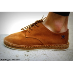 HMS20697 LACE UP ESPADRILLE 869TAN-2