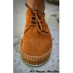 HMS20697 LACE UP ESPADRILLE 869TAN-3