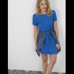 Robe bleue I.Code 1