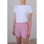 Tee Shirt CLUB PISCINE blanc TS01 6-1