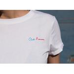 Tee Shirt CLUB PISCINE blanc TS01 6-2