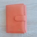Portefeuille femme orange 1