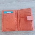 Portefeuille femme orange 3