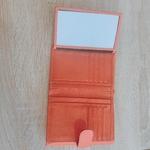 Portefeuille femme orange 4