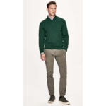 HM702081 LAMBSWOOL HZIP 682 GREEN  2