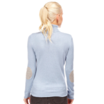 PLW28188F PULL COL ROULE CASHMERE AVEC COUDIE ORAG 3