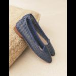 La Pergolette Bleu Marine : Tressé Synthétique 1