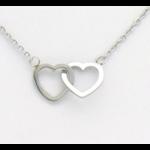 collier 0119257-13 coeur acier inoxydable 2