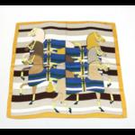 Carré esprit cavalier : foulard0719022-43carr70x70cm100polyester 1