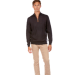 PLH2485HD PULL COL MONTANT ZIPPE NAVY 2