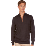 PLH2485HD PULL COL MONTANT ZIPPE NAVY 1