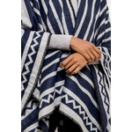 marco-accessoires-poncho-imprime-bicolore-navy-2