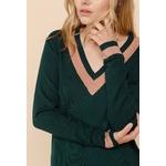 sweewe-robe-pull-tricot-rayee-alpine_green-4
