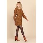 sweewe-robe-imprimee46-camel-3