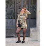 robe mira croisée dorée 2