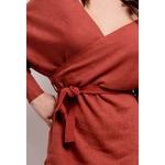lilie-rose-robe-cache-cur-en-maille-brown-2