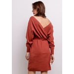 lilie-rose-robe-cache-cur-en-maille-brown-4