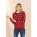 sweewe-pull-femme-a-pois-dark_red-3