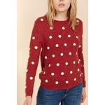 sweewe-pull-femme-a-pois-dark_red-4