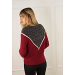 sweewe-pull-col-rond-colorblock-red-2