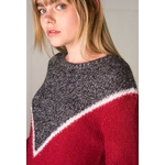 sweewe-pull-col-rond-colorblock-red-4