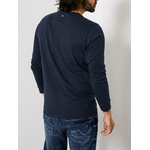 M 3090 TLR624 T SHIRT LS R NECK 5091 DEEP NAVY.