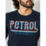 M 3090 TLR624 T SHIRT LS R NECK 5091 DEEP NAVY..