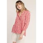 sweewe-blouse-femme-imprimee-red-1