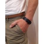 Bracelet tresse simple - noir - Petrol Industries 1