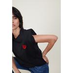 teeshirtnoir coeur rouge 3