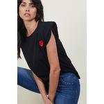 teeshirtnoir coeur rouge 4