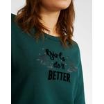 IKKS-SWEAT VERT PINEGREEN GIRLS DO IT BETTER I_CODE-QR15004-58_2