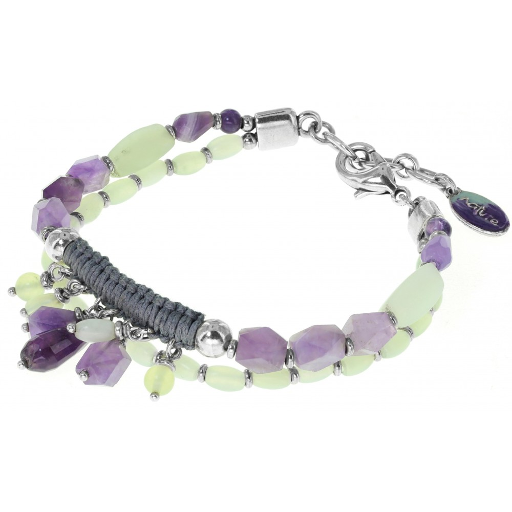 check-out 17afa 68e85 Bracelet fantaisie femme NYMPHEAS de NATURE BIJOUX 13-29741