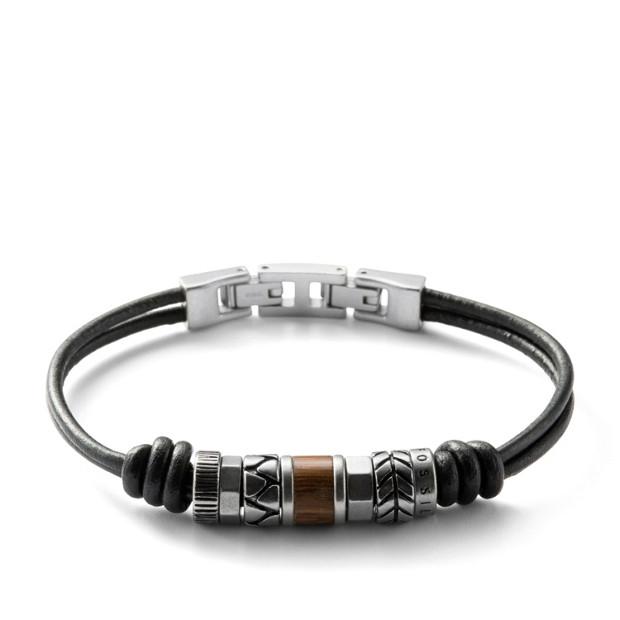 bracelet homme fossil JF84196040,bijouterie lombart lille