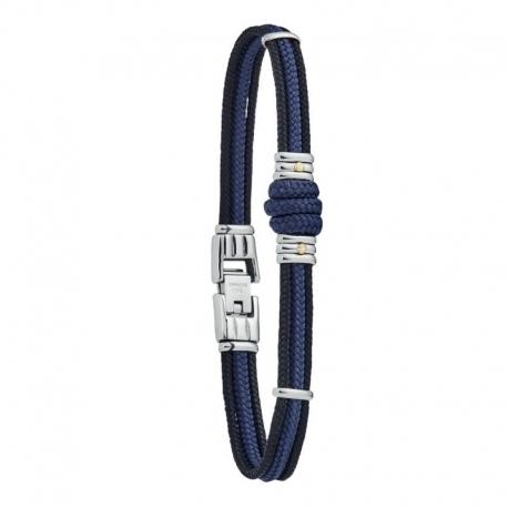 Bracelet homme jourdan bleu