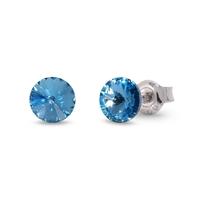 Boucles d'oreilles argent et cristal Swarovski Spark A363A