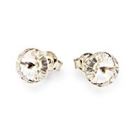 Boucles d'oreilles argent et cristal Swarovski Spark A129W