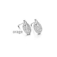 Boucles d'oreilles argent Orage AH064