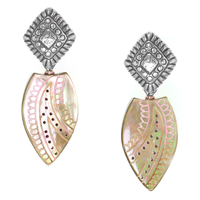 Boucles d'oreilles Nature bijoux collection Blossom 12-35013
