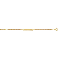 Bracelet bébé OR jaune 18 carats 005075