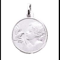 Médaille ange et colombe en argent 925/000 336176
