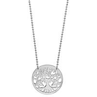 image collier argent arbre de vie - lombartbijoux.com