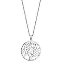 image collier acier arbre de vie - lombartbijoux