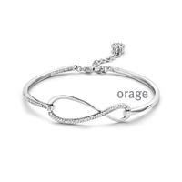 Bracelet argent Orage AH204