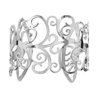 Bracelet manchette femme arbre de vie en acier 127317