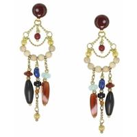 Boucles d'oreilles fantaisie femme GALIANA de NATURE BIJOUX 12-25515