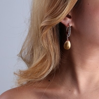 Boucles d'oreilles NATURE BIJOUX 12-25858 - lombartbijoux.com